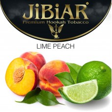 Табак Jibiar Lime Peach (Лайм Персик) - 50 грамм
