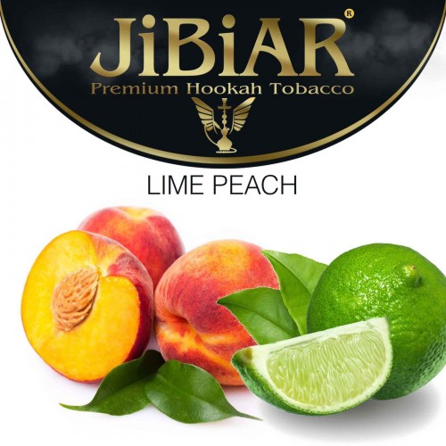 Табак Jibiar Lime Peach (Лайм Персик) - 100 грамм