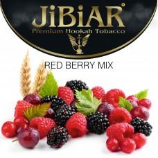 Тютюн Jibiar Red Berry Mix (Красний Ягідний Мікс) - 100 грам