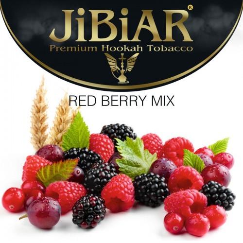 Табак Jibiar Red Berry Mix (Красный Ягодный Микс) - 100 грамм