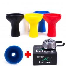 Набор Kaloud lotus 2 + Силиконовая чаша Samsaris Phunnel