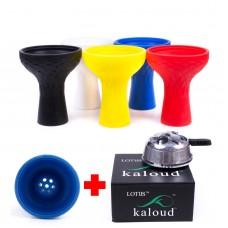 Набор Kaloud lotus + Силиконовая чаша Samsaris Classic