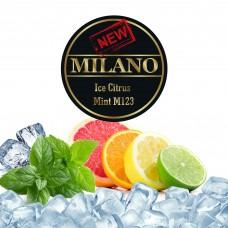 Табак Milano Ice Citrus Mint М123 (Лёд Цитрус Мята) - 50 грамм