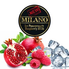 Табак Milano Ice Pomegranate Raspberry M126 (Лёд Гранат Малина) - 50 грамм