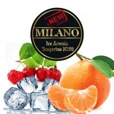 Табак Milano Ice Acerola Tangerine М109 (Лёд Ацерола Мандарин) - 50 грамм