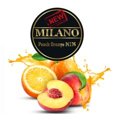 Табак Milano Peach Orange M136 (Персик Апельсин) - 50 грамм