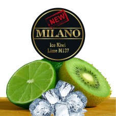 Табак Milano Ice Kiwi Lime M137 (Лёд Киви Лайм) - 50 грамм