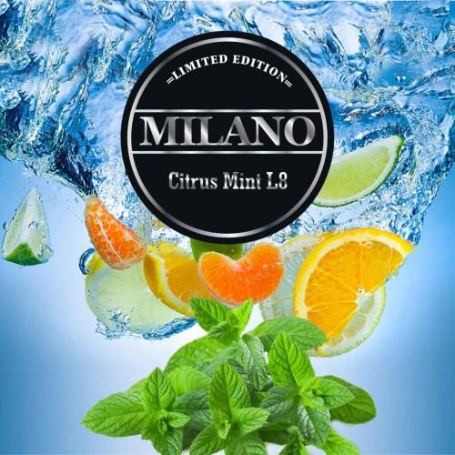 Табак Milano Limited Edition Citrus Mint L8 (Цитрус Мята) - 100 грамм