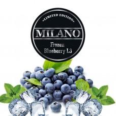 Табак Milano Limited Edition Frozen Blueberry L3 (Замороженая Черника) - 100 грамм