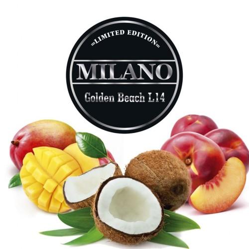Табак Milano Limited Edition Golden Beach L14 (Голден Бич) - 100 грамм