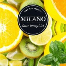 Табак Milano Limited Edition Green Orange L38 (Зеленый Апельсин) - 100 грамм