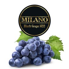 Табак Milano Black Grape M93 (Черный Виноград) - 100 грамм