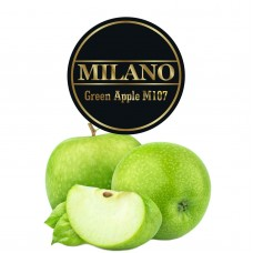 Табак Milano Green Apple M107 (Зеленое Яблоко) - 100 грамм