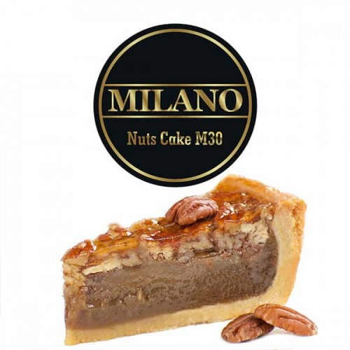 Табак Milano Nuts Cake M30 (Ореховый Пирог) - 100 грамм