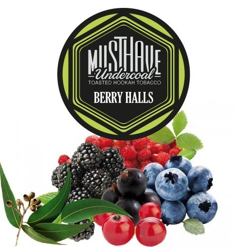 Табак Must Have Berry Holls (Ягодный Холс) - 125 грамм