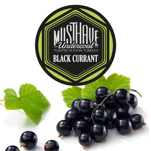 Табак Must Have Black Currant (Черная Смородина) - 125 грамм