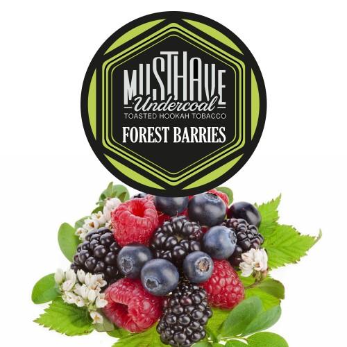 Тютюн Must Have Forest Barries (Лісови Ягоди) - 125 грам