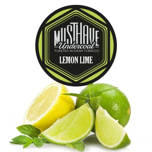 Табак Must Have Lemon Lime (Лимон Лайм) - 125 грамм