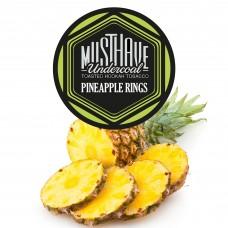 Табак Must Have Pineapple Rings (Ананасовые Кольца) - 125 грамм
