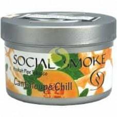 Табак Social Smoke Cantaloupe Chill (Канталуп) - 100 грамм