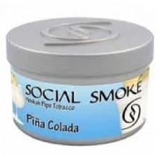 Табак Social Smoke Pina Colada (Пина Колада) - 250 грамм