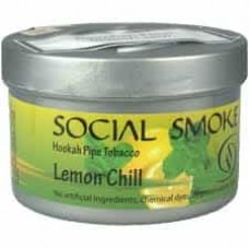 Tobacco Social Smoke Lemon Chill - 100 grams