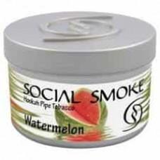 Табак Social Smoke Watermelon (Арбуз) - 250 грамм