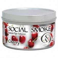 Табак Social Smoke Cherry (Вишня) - 100 грамм