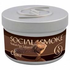 Табак Social Smoke Clove (Гвоздика) - 100 грамм