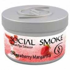 Табак Social Smoke Strawberry Margarita (Клубничная Маргарита) - 250 грамм