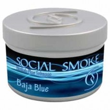 Social Smoke Baja Blue tobacco - 100 grams