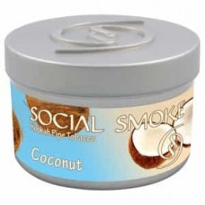 Табак Social Smoke Coconut (Кокос)  - 100 грамм