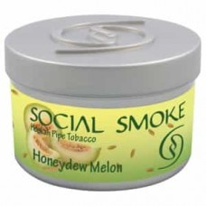 Табак Social Smoke Honeydew Melon (Медовая Дыня) - 100 грамм
