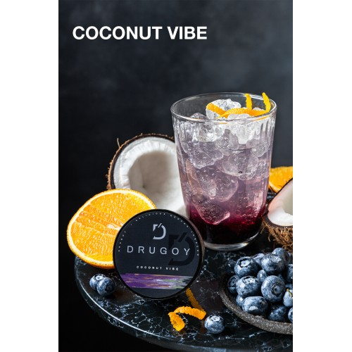 Табак Drugoy Coconut Vibe (Кокосовая Атмосфера) - 100 грамм