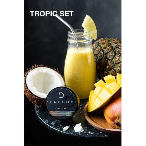 Табак Drugoy Tropic Set (Тропический Микс) - 100 грамм