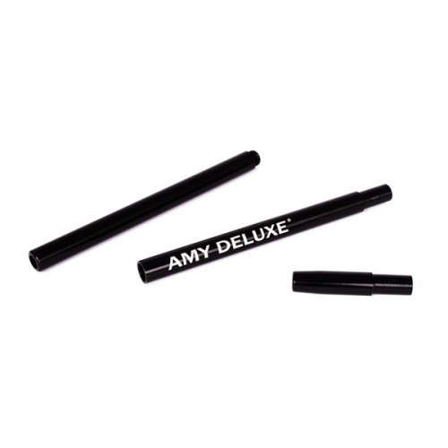 Силіконовий шланг AMY DeLuxe Aluminium Long Black