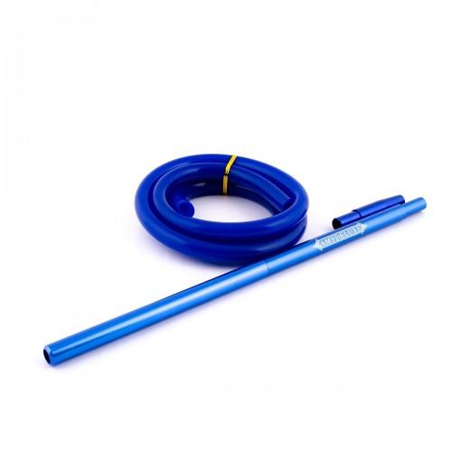 Силиконовый шланг AMY Aluminium Long Original Blue