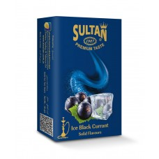 Табак Sultan Ice Black Currant (Лед Черная Смородина) - 50 грамм