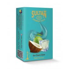 Табак Sultan Ice Coco Lime (Лед Кокос Лайм) - 50 грамм
