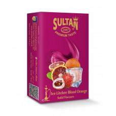 Tobacco Sultan Ice Litchee Blood Orange (Лед Личи Сицилийский Апельсин) - 50 gram
