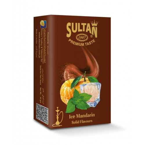 Табак Sultan Ice Mandarin (Лед Мандарин) - 50 грамм